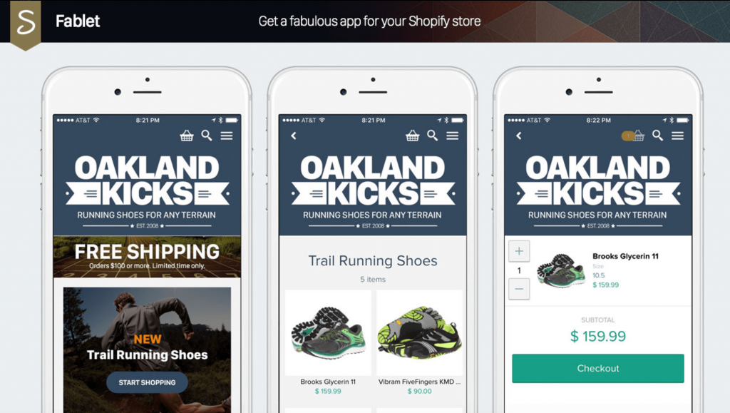 fablet Shopify Apps To Help Increase Sales