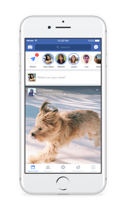 marketing channels facebook stories