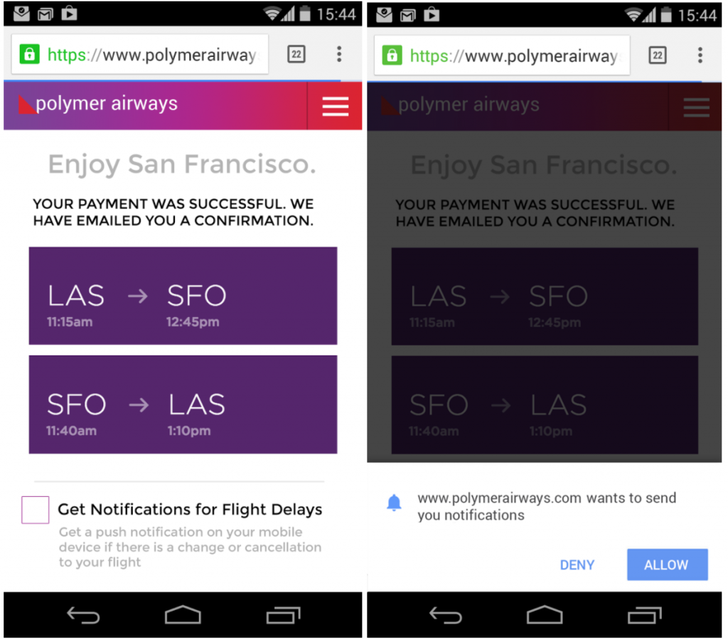 UX Mistakes In Web Push Notifications